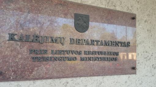 Kalėjimų departamentas: Kaune iš darbo vietos pasišalinęs nuteistasis nepavojingas