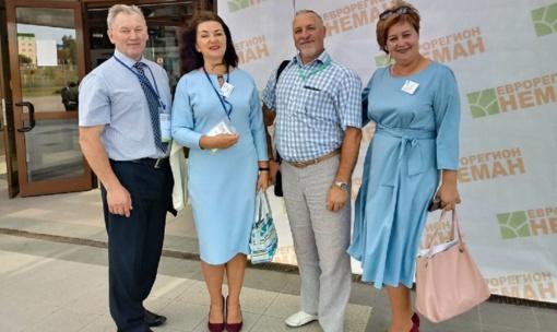 """Kalvarijos savivaldybės atstovai dalyvavo parodoje-mugėje ,,Euroregionas ,,Nemunas 2019"""""""