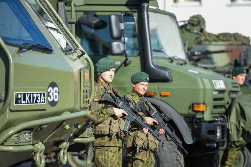 Šiaulių miesto prieigose vyks karinės pratybos
