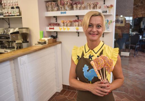 Kiekvieno namai gali pakvipti ir pačių gaminamai saldainiais