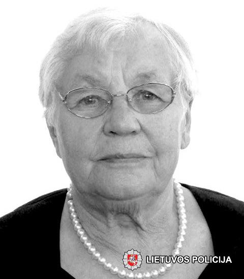 Policija prašo visuomenės pagalbos – senolė išėjo grybauti ir dingo