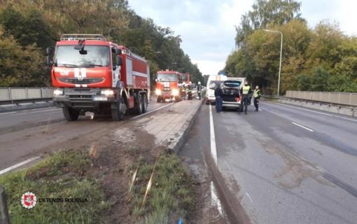 Antradienį šalies keliuose per avarijas sužeista 20 žmonių, vienas – žuvo
