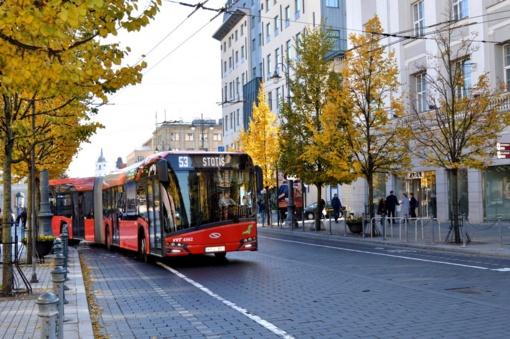Šį sekmadienį Vilnius kviečia keliauti nemokamu viešuoju transportu ir kitais darniais ratais