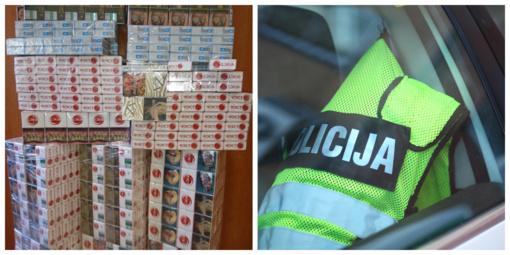 Pakruojo policijos pareigūnai tęsia kovą su nelegalia prekyba