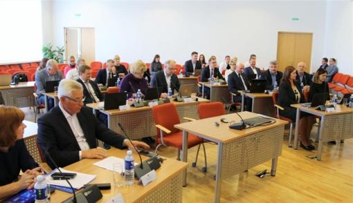 Tarybos posėdžio metu priimti sprendimai 29 klausimais