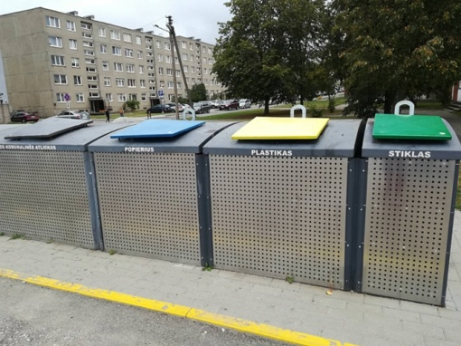 Misija įmanoma: siekiama sumažinti į sąvartyną patenkančių atliekų kiekį