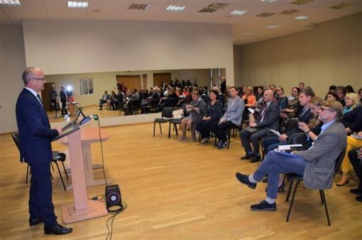 Forume-diskusijoje – idėjų gausa rajono plėtros strategijai