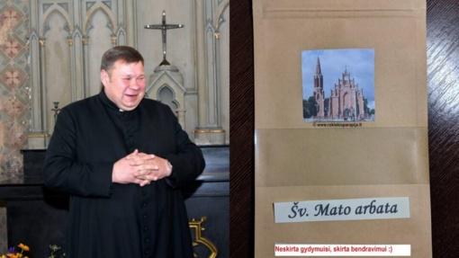 Rokiškio bažnyčią nuo šiol garsins ir Šv. Mato arbata