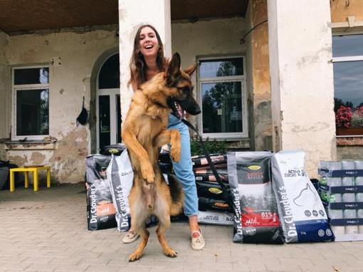 Į Ameriką su augintiniu: Faustos Marijos Leščiauskaitės šuns bilietas brangesnis nei jos