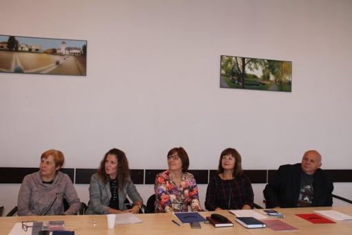 Profesinių sąjungų atstovai Utenoje diskutavo aktualiais klausimais