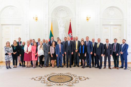 G. Nausėda susitiko su JAV verslo delegacija