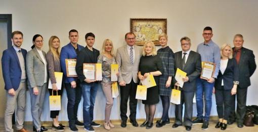 Savivaldybėje paskelbti verslo projektų konkurso nugalėtojai (vaizdo įrašas)
