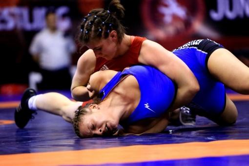Imtynininkė D. Domikaitytė pasaulio čempionate pralaimėjo pirmąją kovą