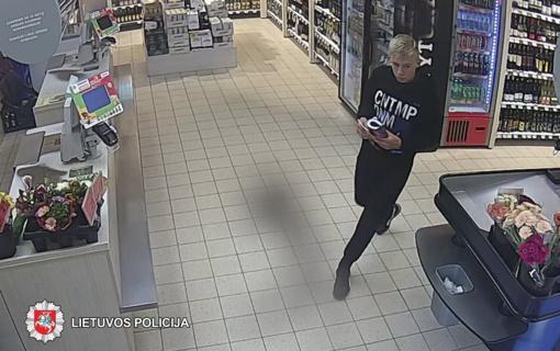Panevėžio policija ieško loterijos bilietus pavogusio vyro