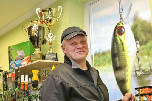 Žvejo svajonė– Šiaulių Eldoradas