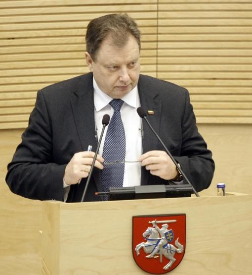Žemės ūkio viceministru paskirtas P. Narkevičius