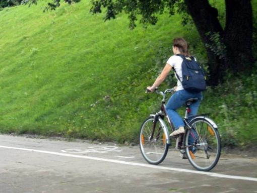 Seimas priėmė svarstyti siūlymą dviratininkams šviesiuoju paros metu važiuoti be liemenių