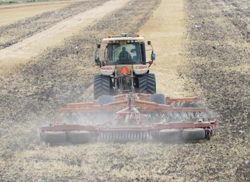 ESO: ūkininkai pjauna ne tik javus, bet ir elektros stulpus