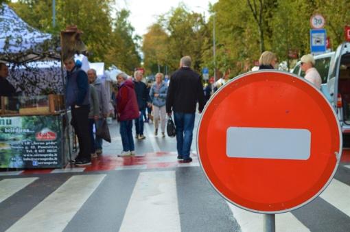 Rugsėjo 20-22 dienomis Palangoje – laikini eismo organizavimo pakeitimai