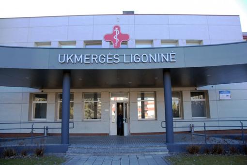 Koronaviruso atvejų skaičius tarp Ukmergės ligoninės medikų perkopė 20