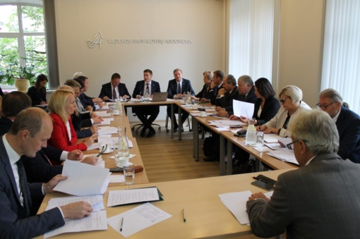 Meras dalyvavo Lietuvos savivaldybių asociacijos valdybos posėdyje