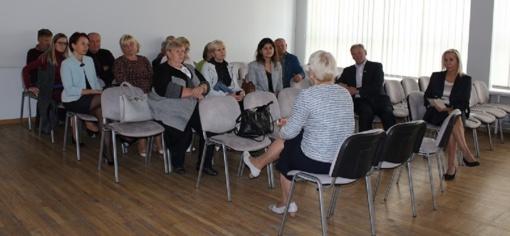 Lietuvos Respublikos Seimo Sveikatos reikalų komiteto pirmininkė Astos Kubilienės vizitas Kalvarijoje
