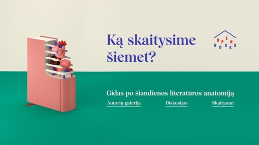 """Vilniuje vyks literatūros festivalis """"Open books"""""""