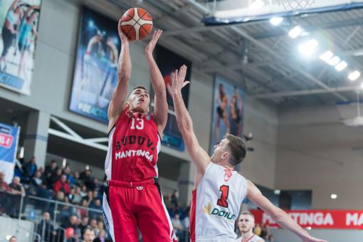 """""""Sūduvos-Mantingos"""" krepšininkai pergale pradėjo draugišką turnyrą Kinijoje"""