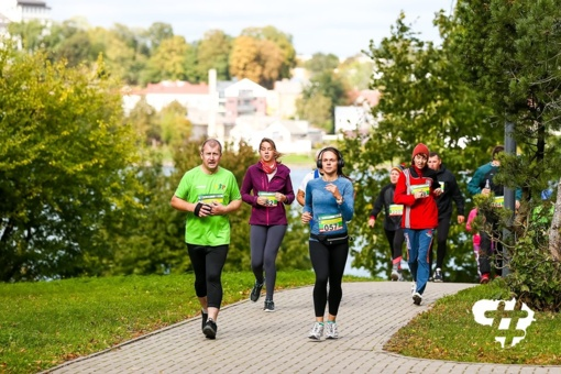 Vėjuotame bėgime Telšiuose – A. Skinulio ir D. Lukošienės pergalės
