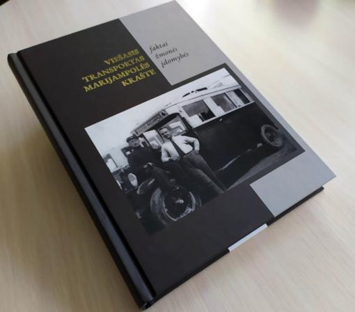 """Pristatys knygą """"Viešasis transportas Marijampolės krašte"""""""