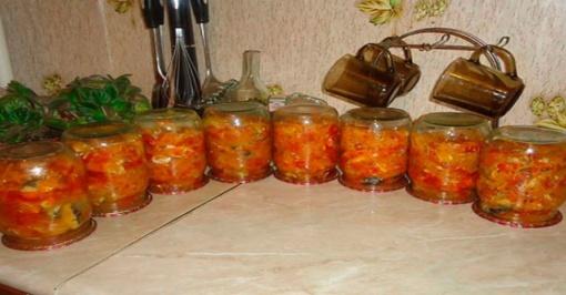 Konservuota skumbrė su daržovėmis. Vienas gardžiausių receptų!