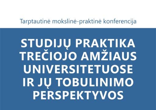 Šiaulių TAU tarptautinė mokslinė-praktinė konferencija