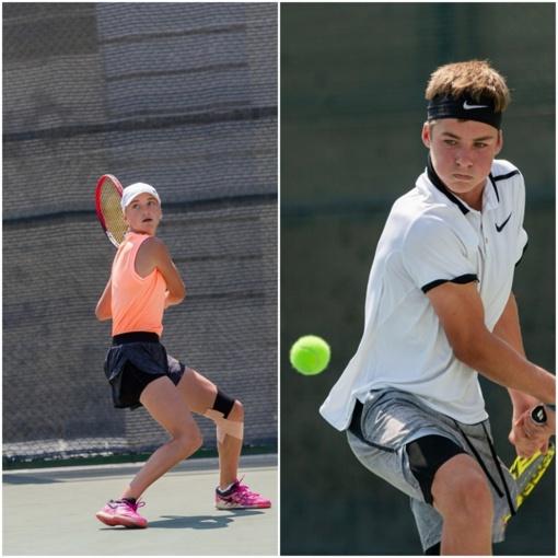 Pajėgiausių Europos šešiolikmečių tenisininkų turnyre varžysis trys lietuviai
