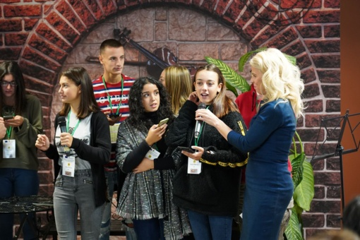 Lieporiečiai kalbų mokosi dainuodami