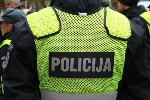 Savaitgalį dažniau patruliuos policija