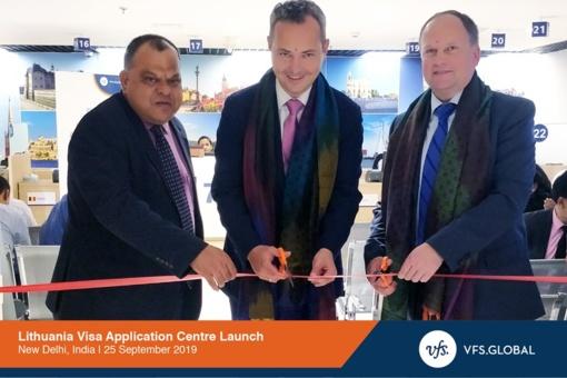 Indijoje atidaryti Lietuvos vizų centrai