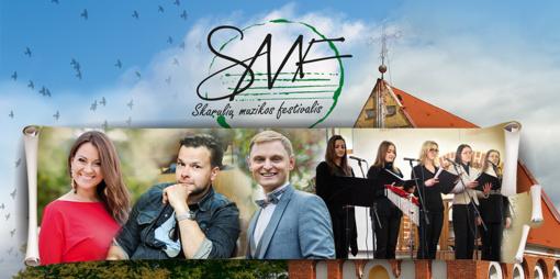Skarulių festivalio uždaryme - žymūs atlikėjai ir speciali giesmių programa