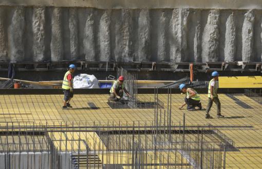 Statybos sektoriaus darbuotojų paklausa šalyje 7,5 proc. aukštesnė už pasiūlą