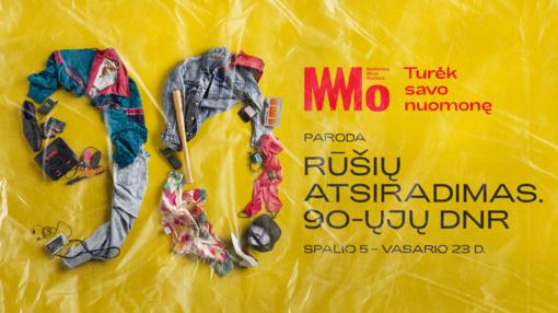 """MO muziejus kviečia prisiminti savas istorijas ir atrasti naują parodą """"Rūšių atsiradimas. 90-ųjų DNR"""""""