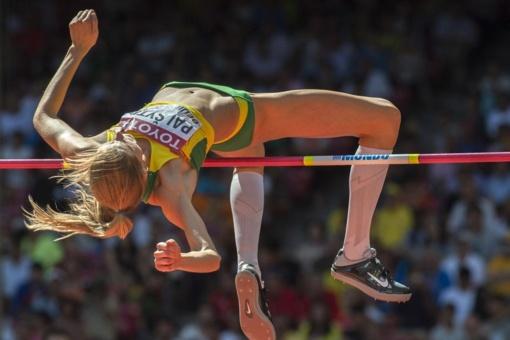 Šuolininkė į aukštį A. Palšytė pasaulio čempionate nepateko į finalą