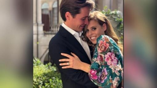 Princesė Beatrice susižadėjo su šeimą palikusiu italų verslininku