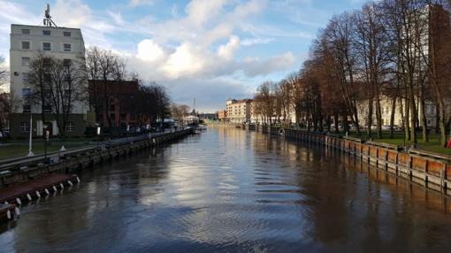Aplinkosaugininkai pradėjo tyrimą dėl į Danės upę Klaipėdoje išsiliejusių teršalų