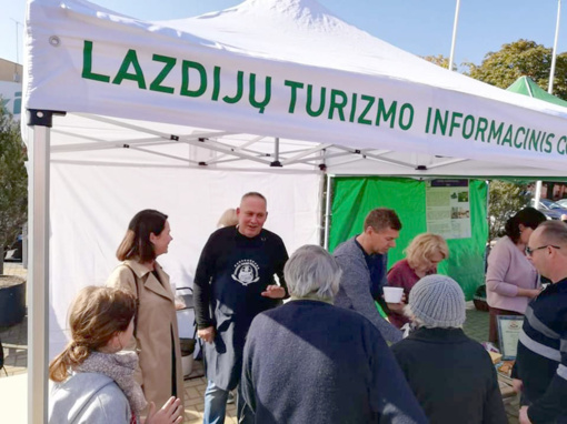 Per Pasaulinę turizmo dieną – daug pramogų Lazdijuose