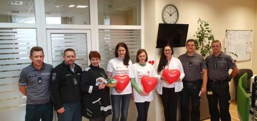 Ligoninės kardiologai paminėjo Pasaulinę širdies dieną