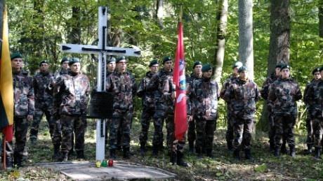 Alytuje pagerbtas Lietuvos partizanų atminimas
