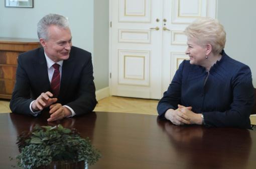 D. Grybauskaitė apie G. Nausėdos retoriką: atviresnė, drąsesnė retorika man pasiteisino