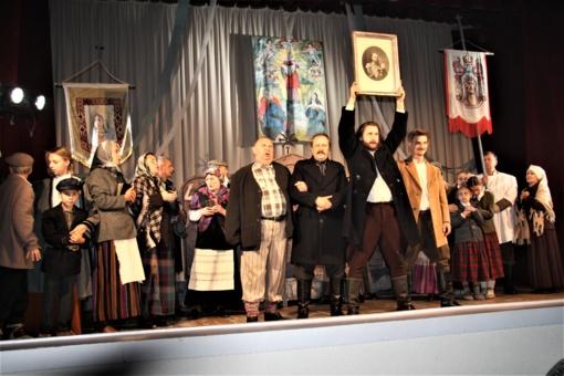 """Žemaičių kultūrinis identitetas spektaklyje """"Kražių skerdynės"""""""