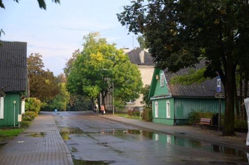 Dėl Trakų Karaimų gatvės statybos darbų bus ribojamas eismas