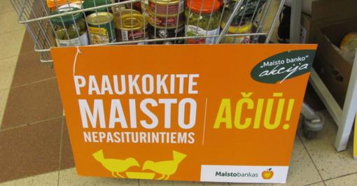 """""""Maisto bankas"""" – naujasis Marijampolės savivaldybės administracijos partneris"""