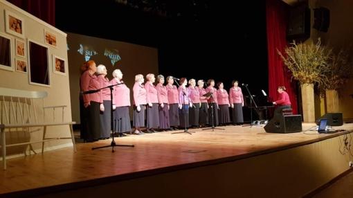 Trečiojo amžiaus universiteto mokslo metų pradžios šventėje skambėjo muzika ir eilės